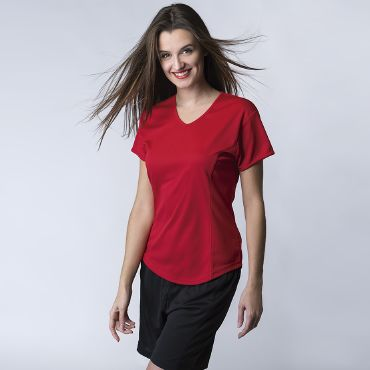 Camiseta deportiva mujer TEX WOMAN ACQUA ROYAL