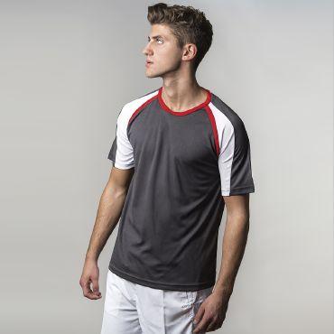 Camiseta deportiva hombre TRAIL ACQUA ROYAL