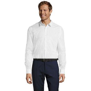 Camisa de manga larga moteada hombre BECKER MEN SOL'S