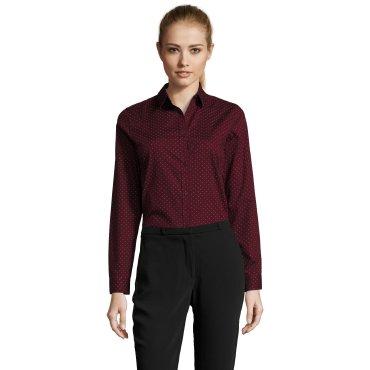Camisa de manga larga moteada mujer BECKER WOMEN SOL'S