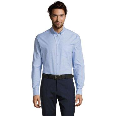 Camisa Oxford de manga larga hombre BOSTON FIT SOL'S