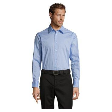 Camisa de manga larga Easycare hombre BRIGHTON SOL'S