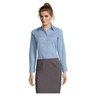 Camisa de manga larga Easycare mujer EDEN WOMEN SOL'S