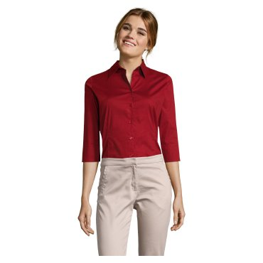 Camisa de manga 3/4 Easycare mujer EFFECT WOMEN SOL'S