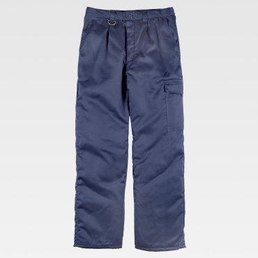 Pantalón de trabajo acolchado para el frío unisex B1410 WORKTEAM