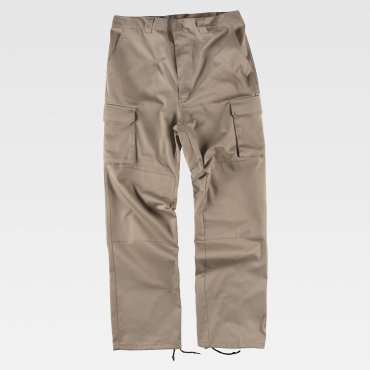Pantalón de trabajo multibolsillos unisex B1416 WORKTEAM