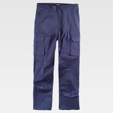 Pantalón cargo strech unisex B1421 WORKTEAM