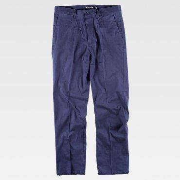 Pantalón chino strech unisex B1422 WORKTEAM