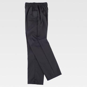 Pantalón de cocina sin bragueta unisex B1427 WORKTEAM