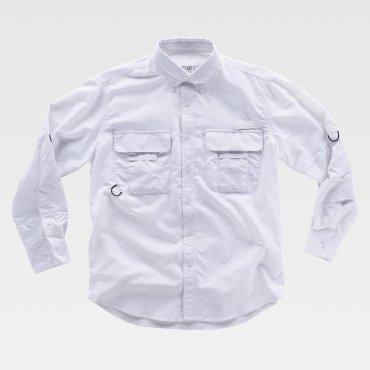 Camisa de trabajo safari manga larga unisex B8500 WORKTEAM