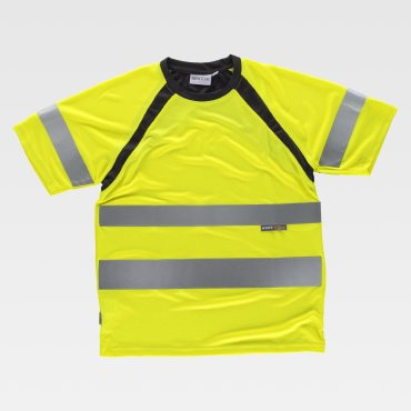 Camiseta laboral de alta visibilidad unisex HEATH WORKTEAM