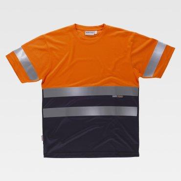 Camiseta laboral de alta visibilidad unisex C3941 WORKTEAM