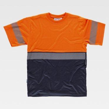Camiseta laboral de alta visibilidad unisex C6030 WORKTEAM