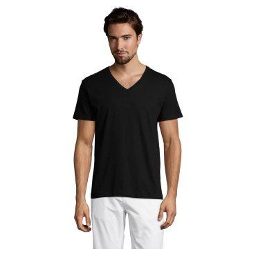 Camiseta cuello pico hombre MASTER SOL'S