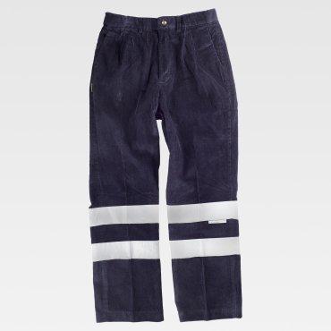 Pantalón de alta visibilidad multibolsillos unisex DEVAN WORKTEAM