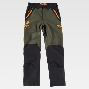 Pantalón outdoor multibolsillos impermeable unisex S8320 WORKTEAM
