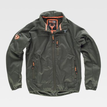 Chaqueta softshell outdoor hombre S8640 WORKTEAM