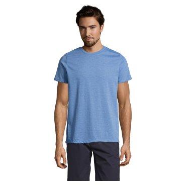Camiseta básica jaspeada hombre MIXED MEN SOL'S