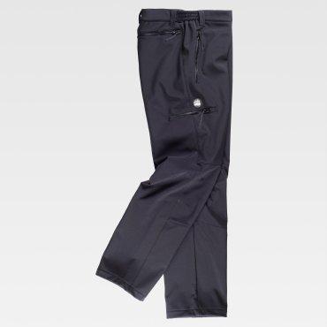 Pantalón softshell multibolsillos unisex S9830 WORKTEAM