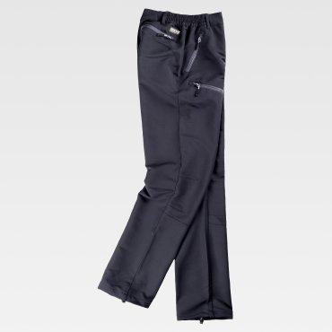 Pantalón de trabajo multibolsillos elástico unisex S9850 WORKTEAM