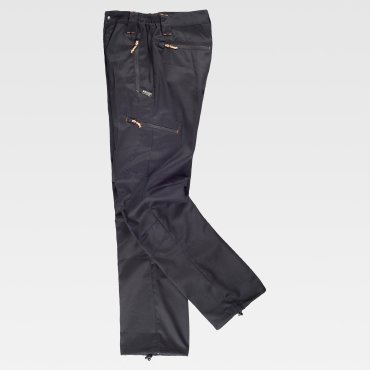 Pantalón de trabajo multibolsillos unisex S9885 WORKTEAM