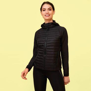 Chaqueta de running con capucha mujer NEW YORK WOMEN SOL'S