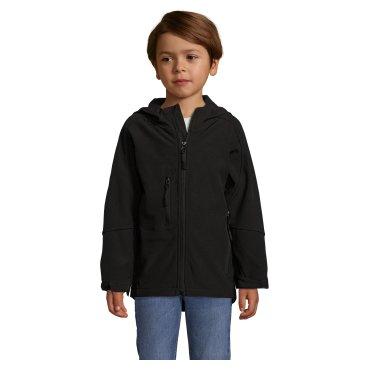 Chaqueta softshell con capucha de 3 capas niño REPLAY KIDS SOL'S