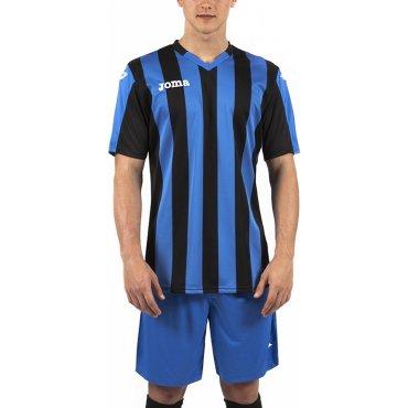 Camiseta de fútbol a rayas hombre-niño COPA JOMA SPORT