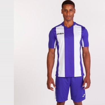 Camiseta de fútbol a rayas hombre-niño PISA V JOMA SPORT