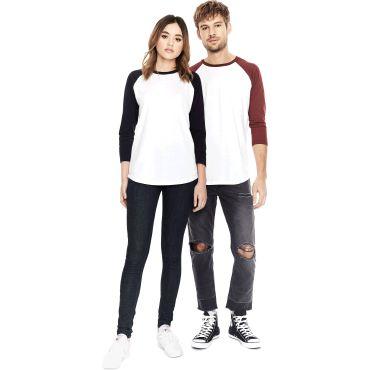 Camiseta de manga larga orgánica unisex EP22 CONTINENTAL