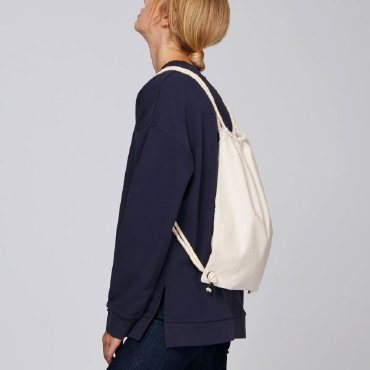 Bolsa mochila de algodón reciclado unisex GYM BAG STANLEYSTELLA