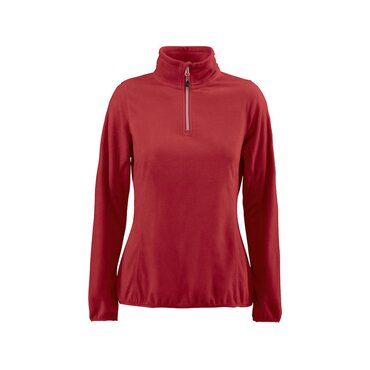 Sudadera media cremallera ligera mujer RAILWALK MICROFLEECE HALF ZIP LADIES PRINTER