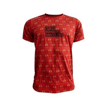 Camiseta técnica unisex BOMBERS CASCO LUANVI