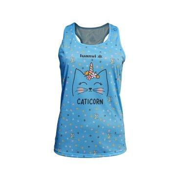 Camiseta técnica de tirantes mujer CATICORN LUANVI
