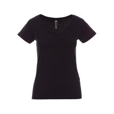 Camiseta básica cuello de pico mujer FENCER PAYPERWEAR