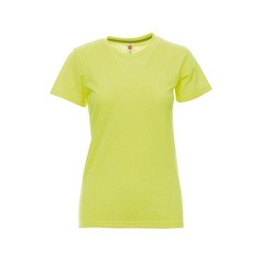 Camiseta básica mujer SUNSET FLUO PAYPERWEAR
