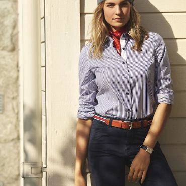 Camisa de manga larga Easycare mujer RENO LADIES JAMES HARVEST