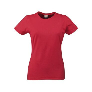 Camiseta cuello redondo ajustada mujer STRETCH T LADIES PRINTER