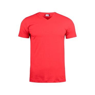 Camiseta cuello de pico unisex BASIC-T V-NECK CLIQUE