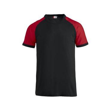 Camiseta beisbol hombre RAGLAN-T CLIQUE