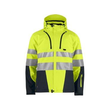 Chaqueta softshell de alta visibilidad con capucha hombre 6420 PROJOB