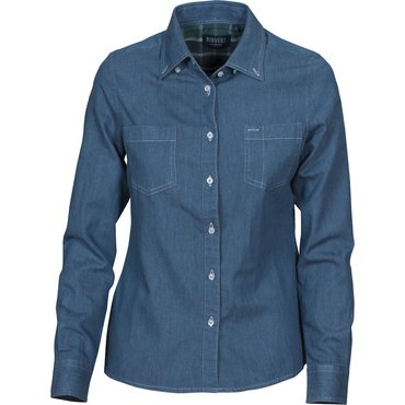 Camisa vaquera manga larga mujer JUPITER LADIES JAMES HARVEST