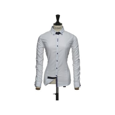 Camisa Oxford de manga larga mujer PURPLE BOW 40 WOMAN HARVEST & FROST