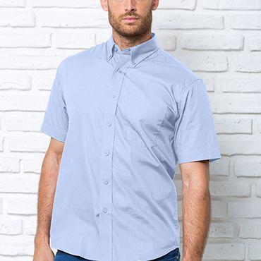 Camisa oxford de manga corta hombre OXFORD JHK T-SHIRT