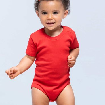 Body de bebe de manga corta niño SINGLE JERSEY BABY BODY JHK T-SHIRT