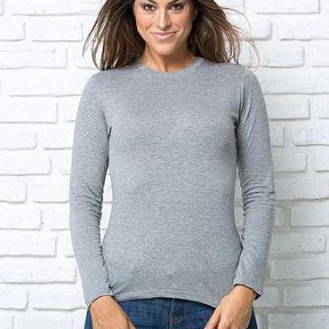 Camiseta manga larga mujer REGULAR  LS JHK T-SHIRT