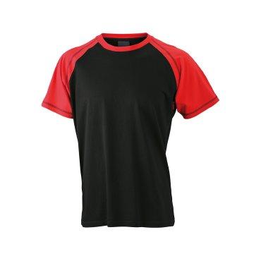 Camiseta básica combinada hombre JN010 James Nicholson