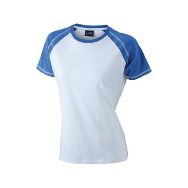Camiseta básica combinada mujer JN011 James Nicholson