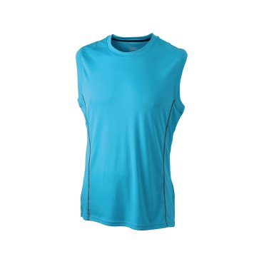Camiseta de running sin mangas hombre JN423 James Nicholson