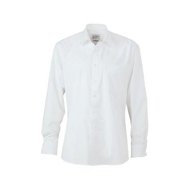 Camisa manga larga easy care hombre JN623 James Nicholson